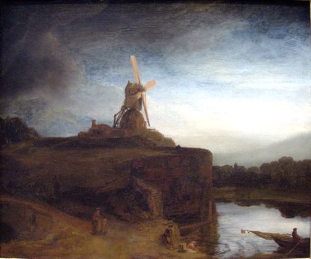 The Old Mill - Rembrandt