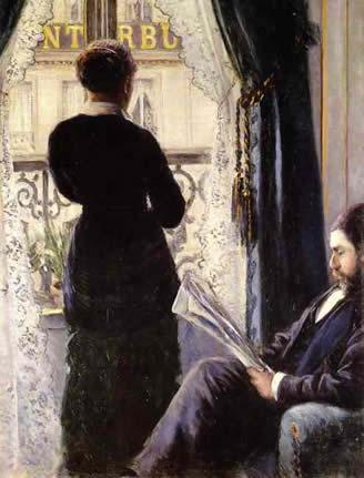 Intérieur - Gustave Caillebotte