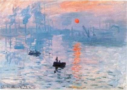 Impressions at Sunrise – Claude Monet
